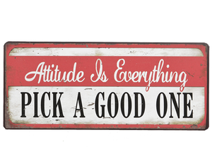 ATTITUDE IS EVERYTHING, PICK A GOOD ONE