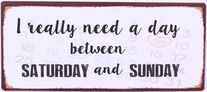 I REALLY NEED A DAY..