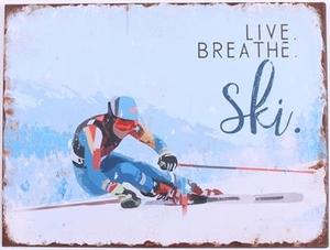LIVE, BREATH, SKI