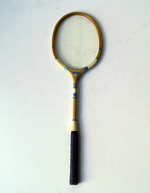 TENNISRACKET, VINTAGE LOOK