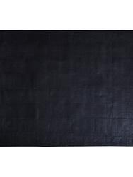 SKINNMATTA , SVART  120 x 180 cm